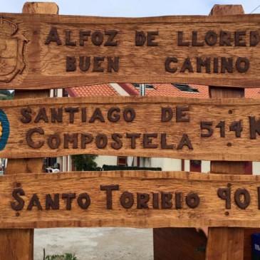 Jakobsweg II – Tag 14 –  Santillana del Mar – Comillas – Los Llaos